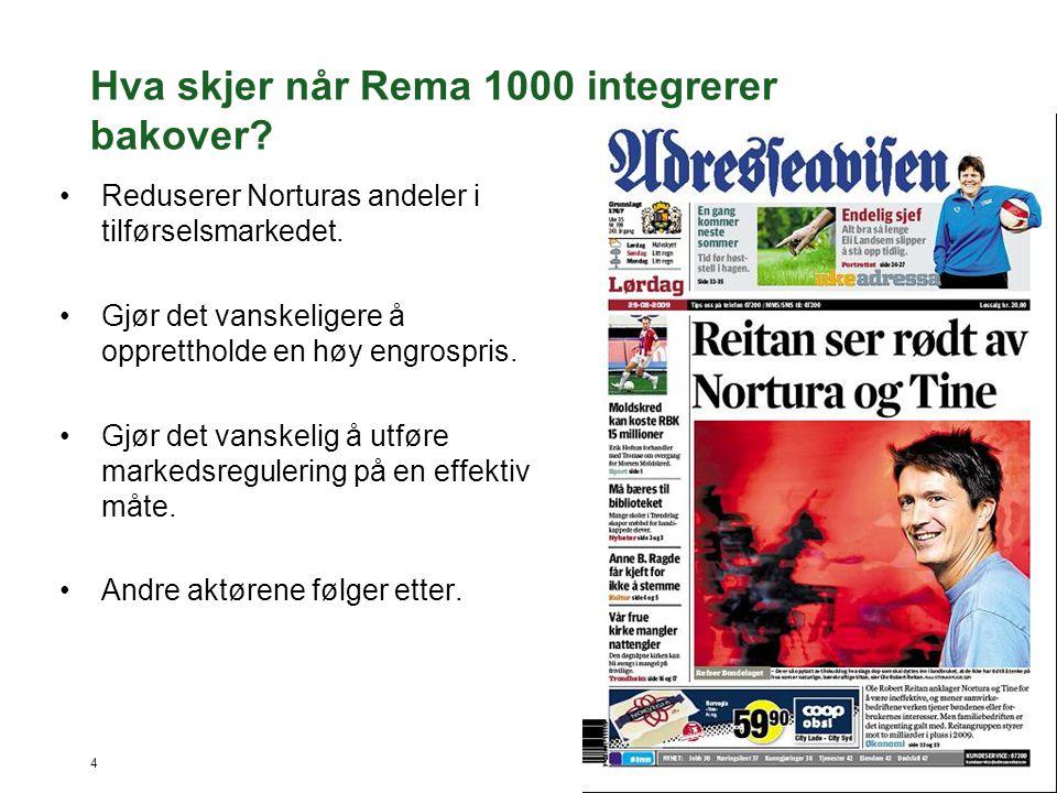 Hva skjer når Rema 1000 integrerer bakover