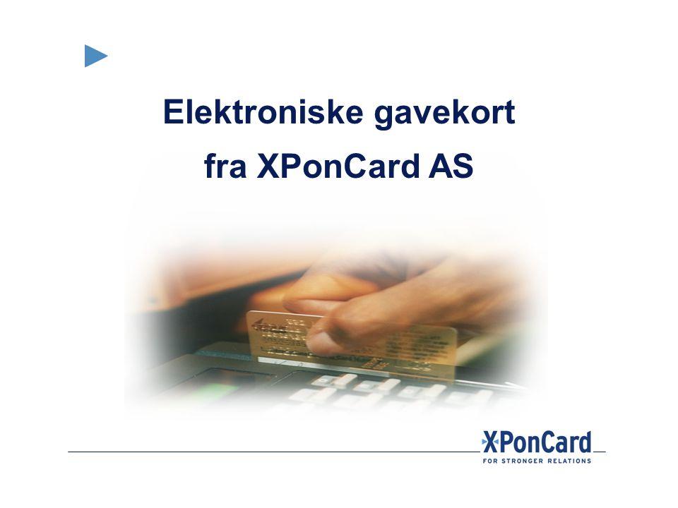 Elektroniske gavekort