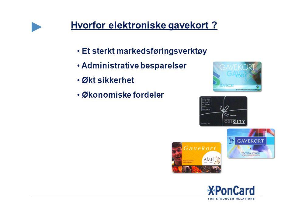 Hvorfor elektroniske gavekort