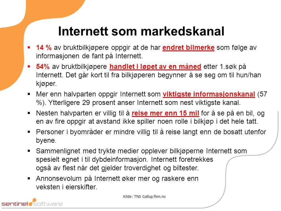 Internett som markedskanal
