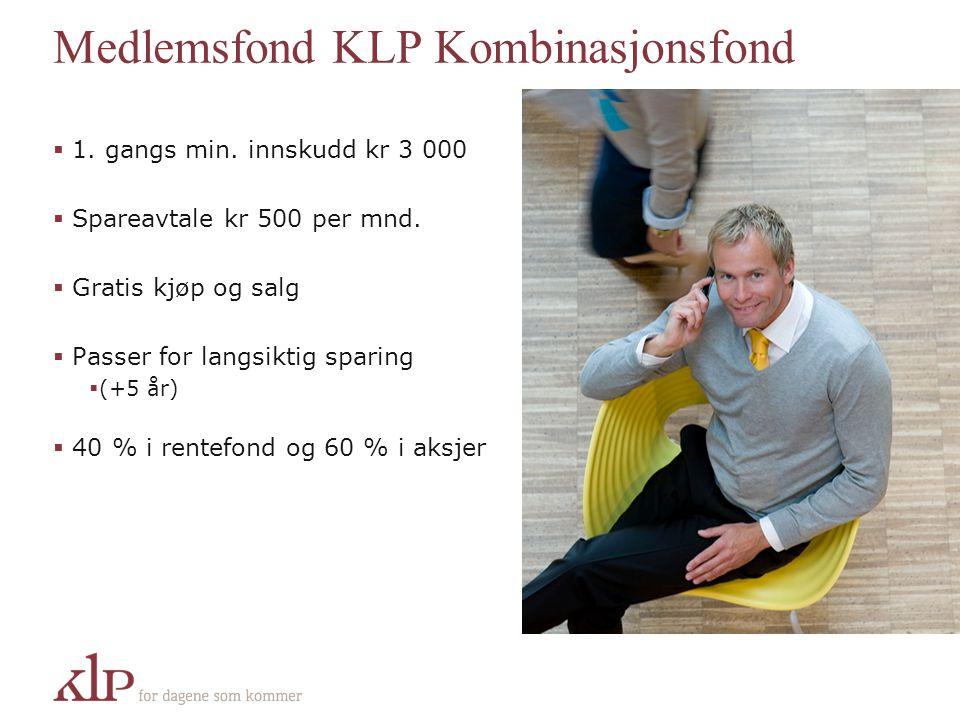 Medlemsfond KLP Kombinasjonsfond