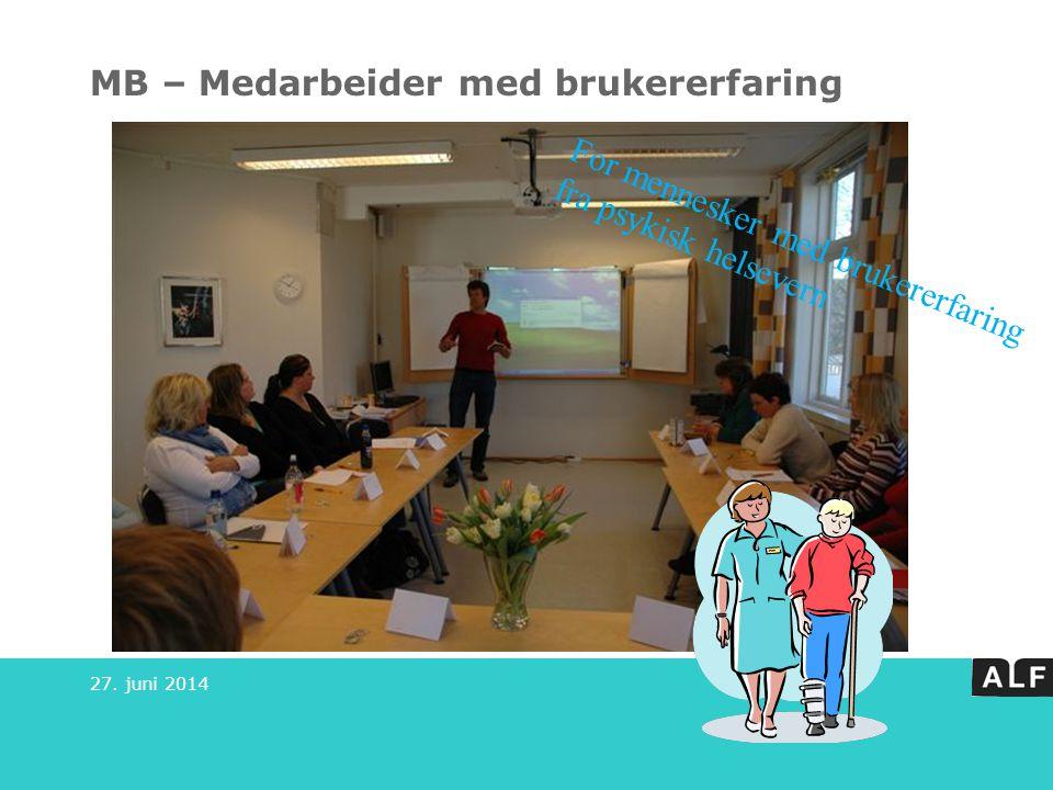 MB – Medarbeider med brukererfaring