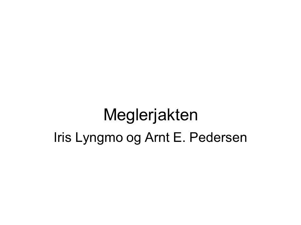 Iris Lyngmo og Arnt E. Pedersen