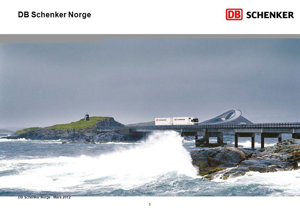 DB Schenker Norge - Mars 2012