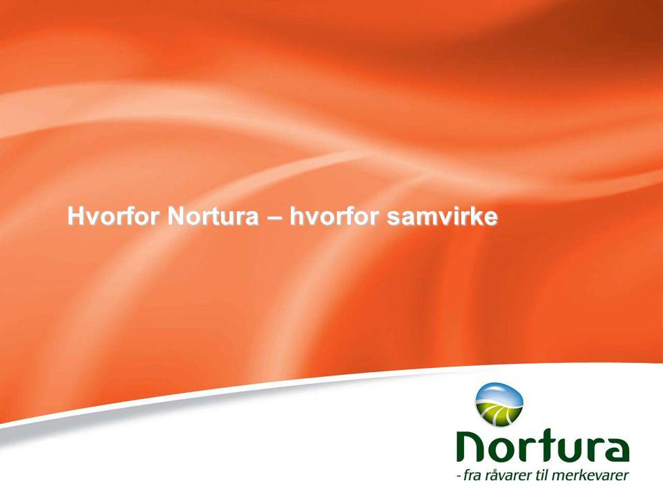 Hvorfor Nortura – hvorfor samvirke