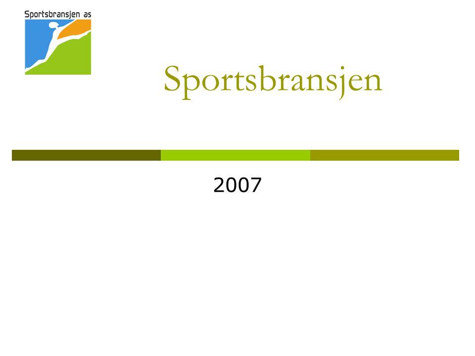 Sportsbransjen 2007