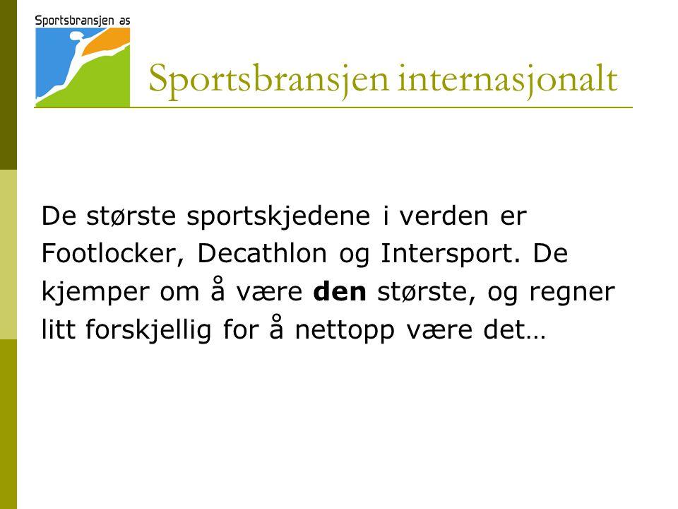 Sportsbransjen internasjonalt