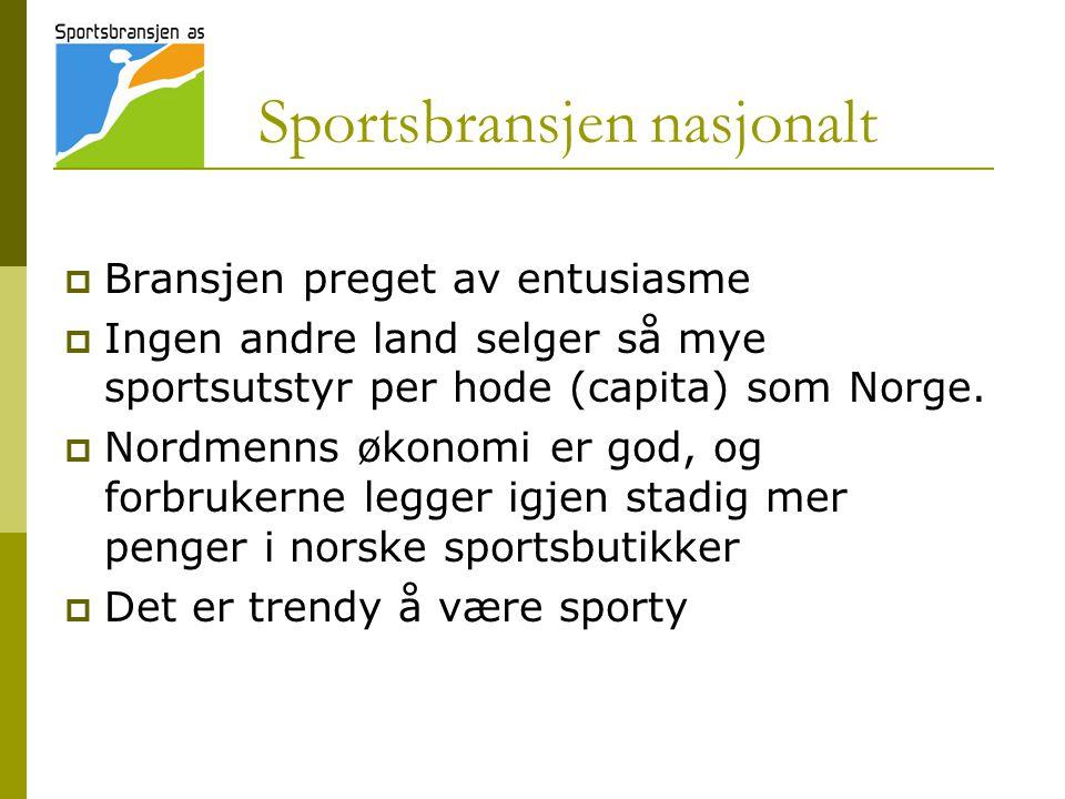 Sportsbransjen nasjonalt