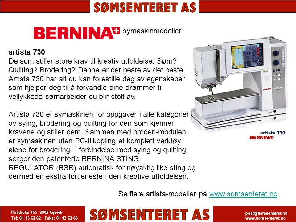 Se flere artista-modeller på www.somsenteret.no