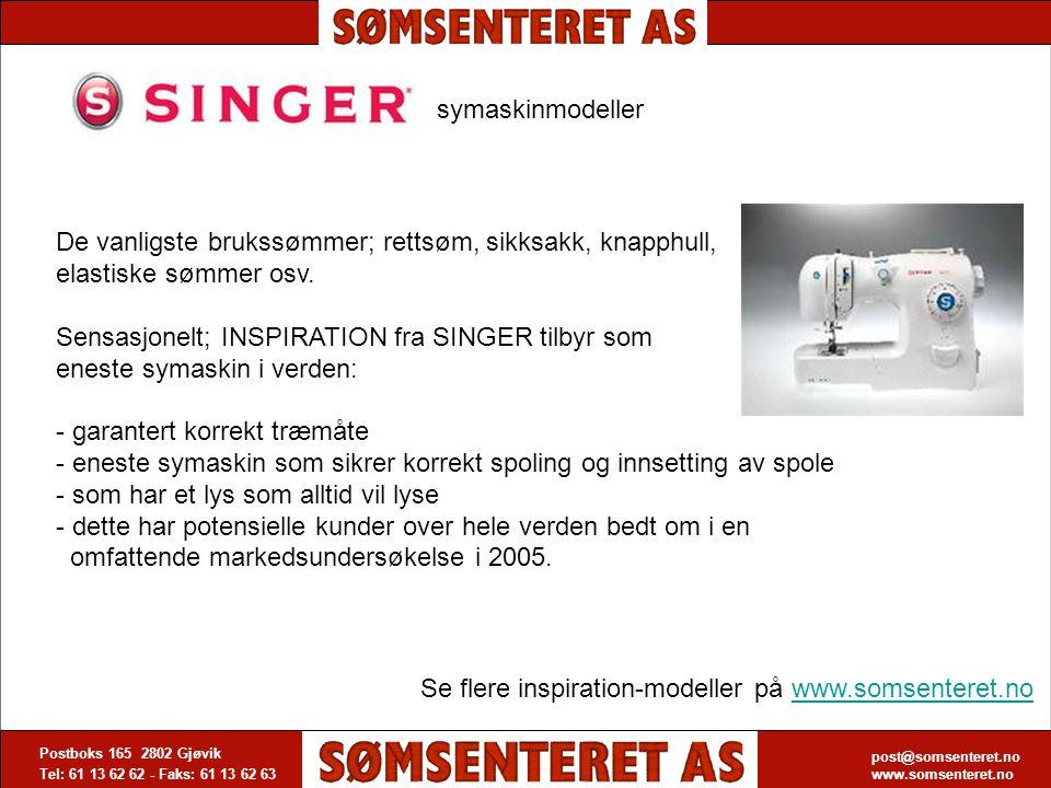 Se flere inspiration-modeller på www.somsenteret.no