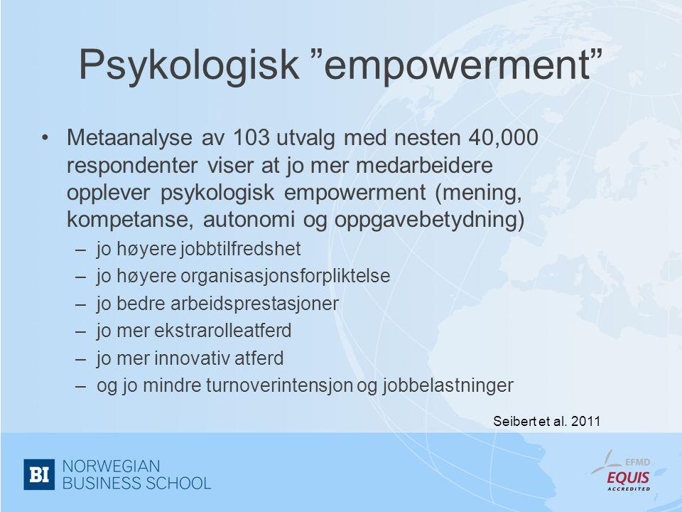 Psykologisk empowerment