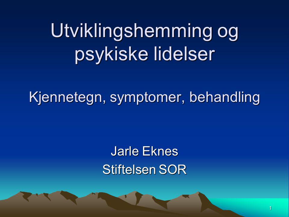 Jarle Eknes Stiftelsen SOR