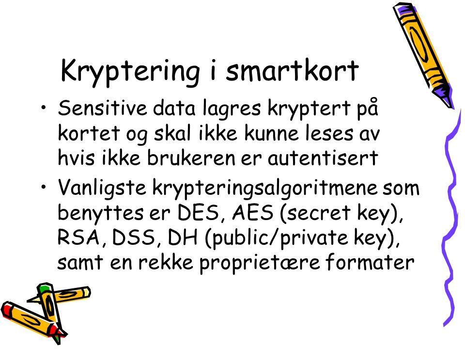 Kryptering i smartkort