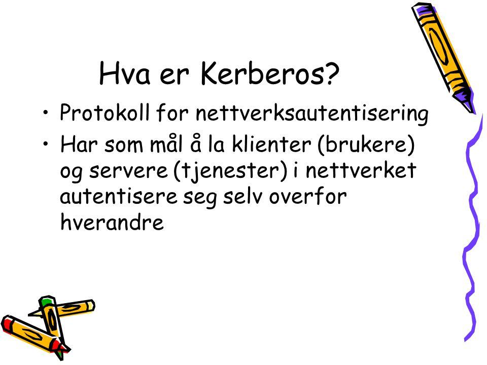 Hva er Kerberos Protokoll for nettverksautentisering