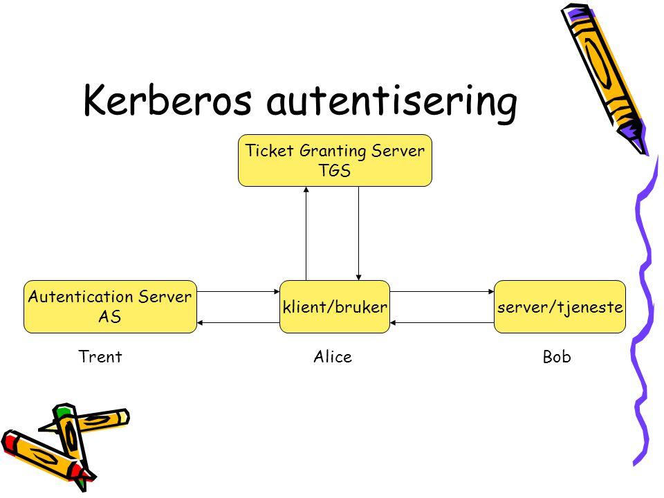 Kerberos autentisering