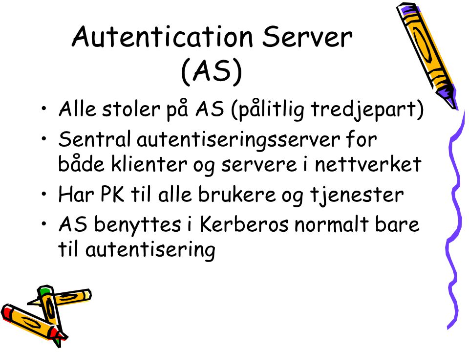 Autentication Server (AS)