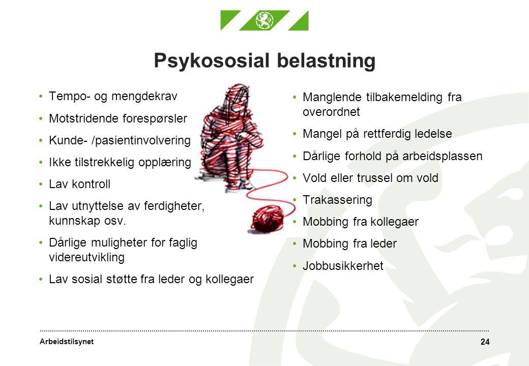 Psykososial belastning