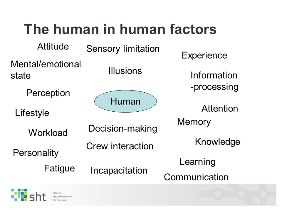 The human in human factors