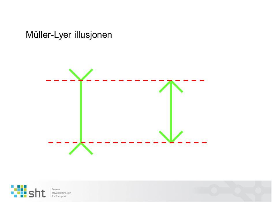 Müller-Lyer illusjonen