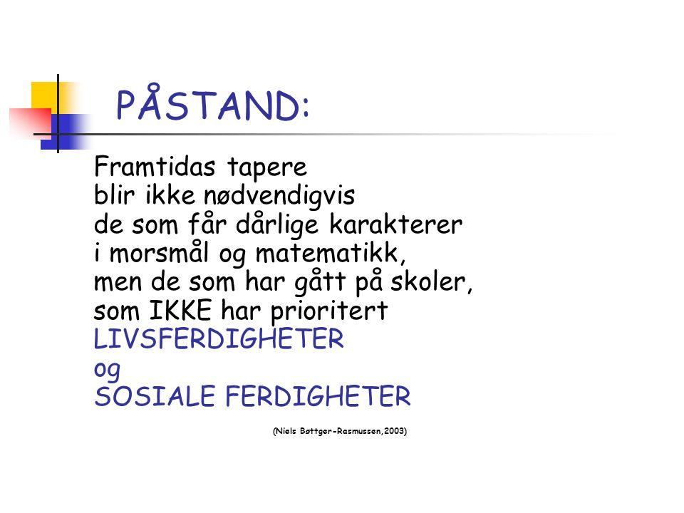 PÅSTAND: