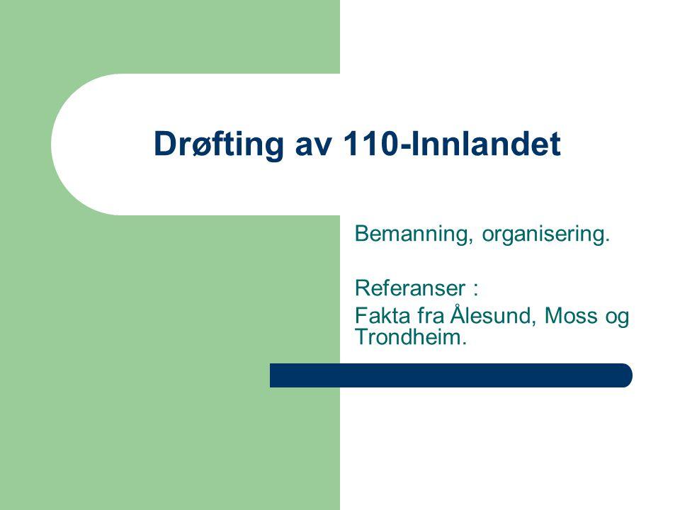 Drøfting av 110-Innlandet