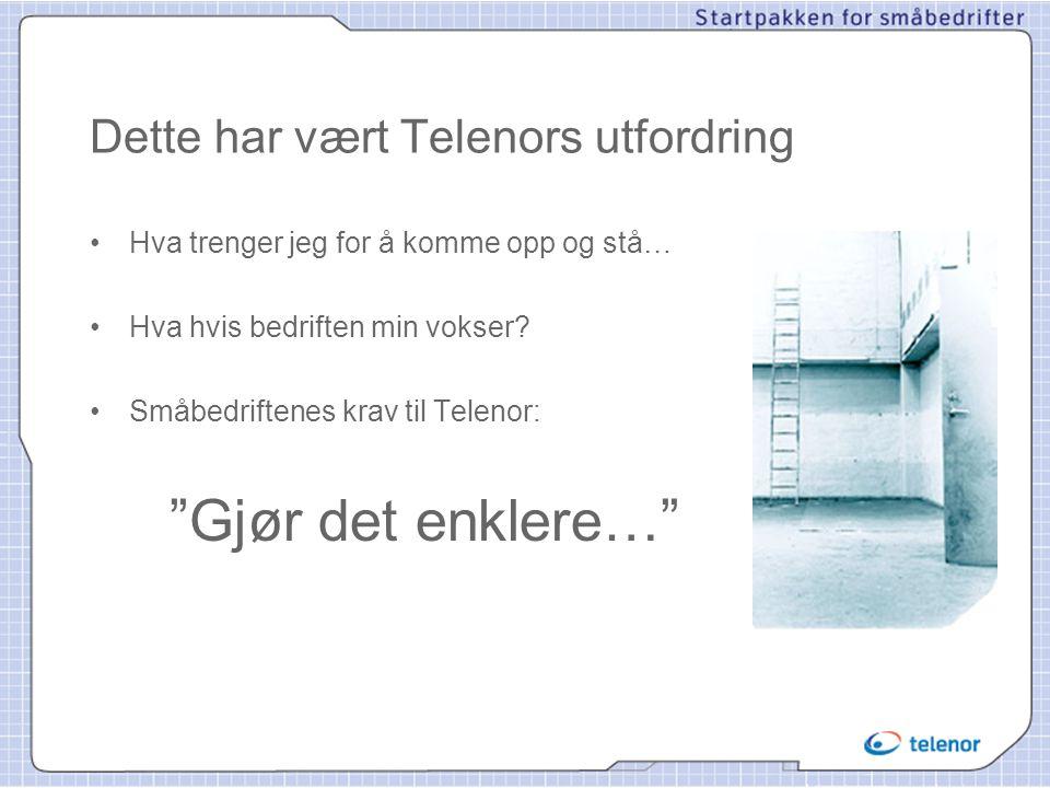 Dette har vært Telenors utfordring