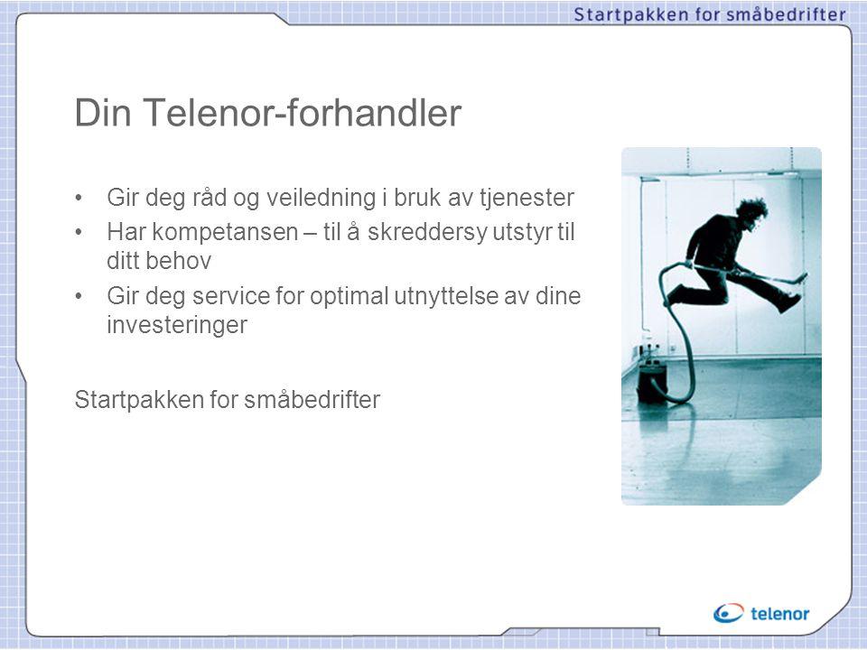 Din Telenor-forhandler