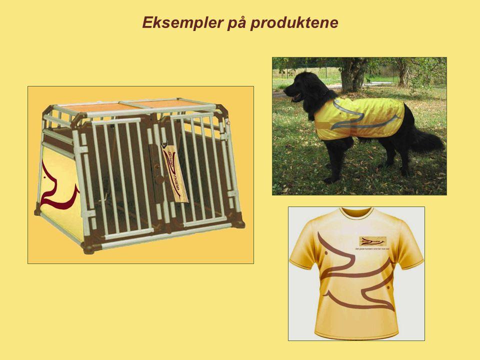 Eksempler på produktene