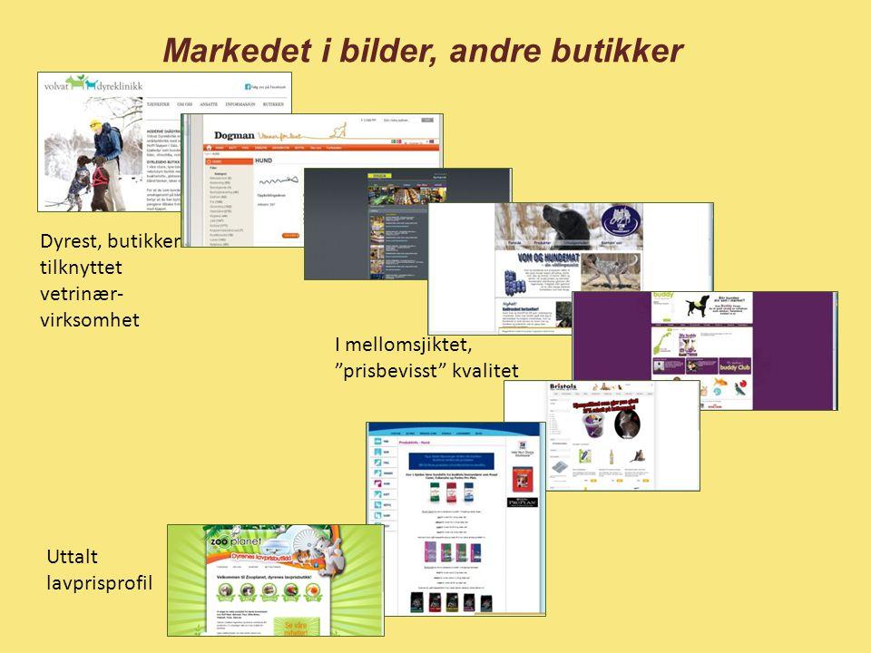 Markedet i bilder, andre butikker
