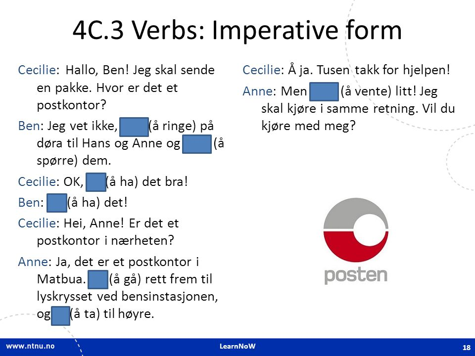 4C.3 Verbs: Imperative form