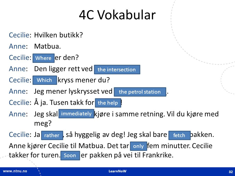4C Vokabular