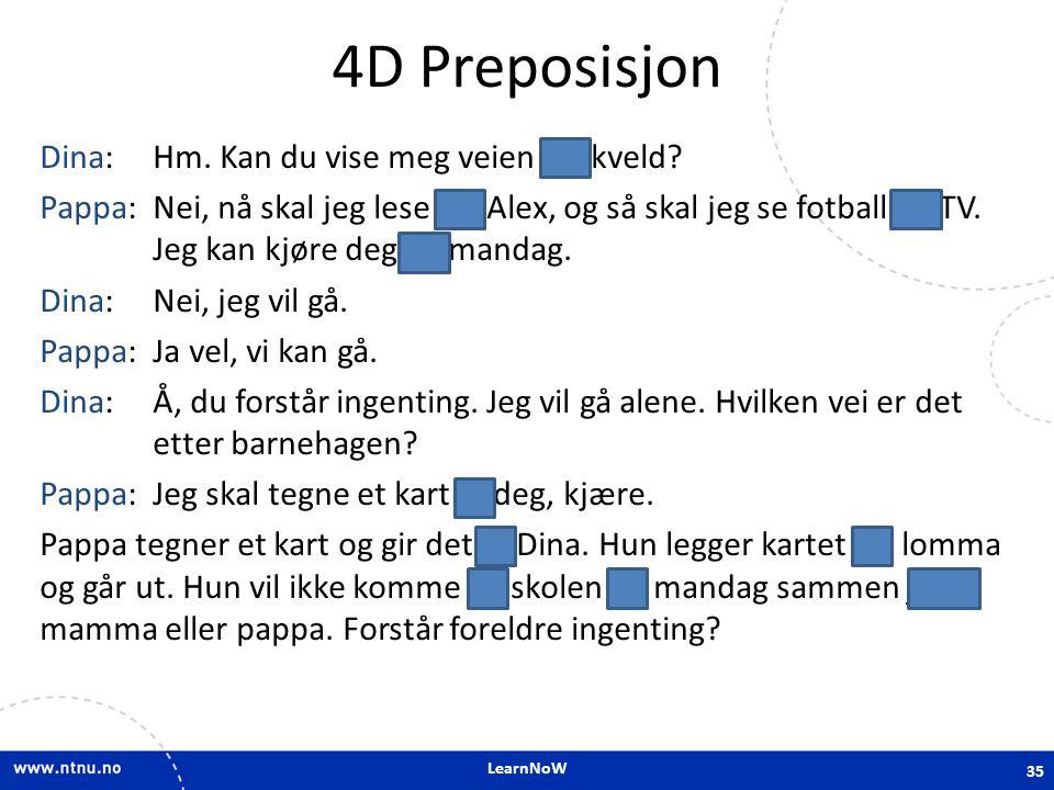 4D Preposisjon