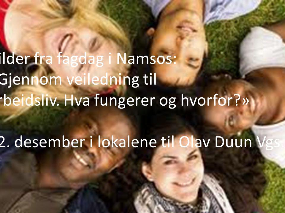 Bilder fra fagdag i Namsos: