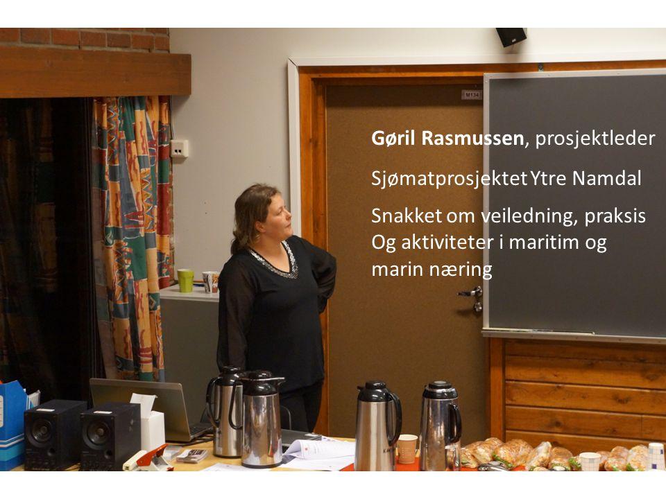 Gøril Rasmussen, prosjektleder
