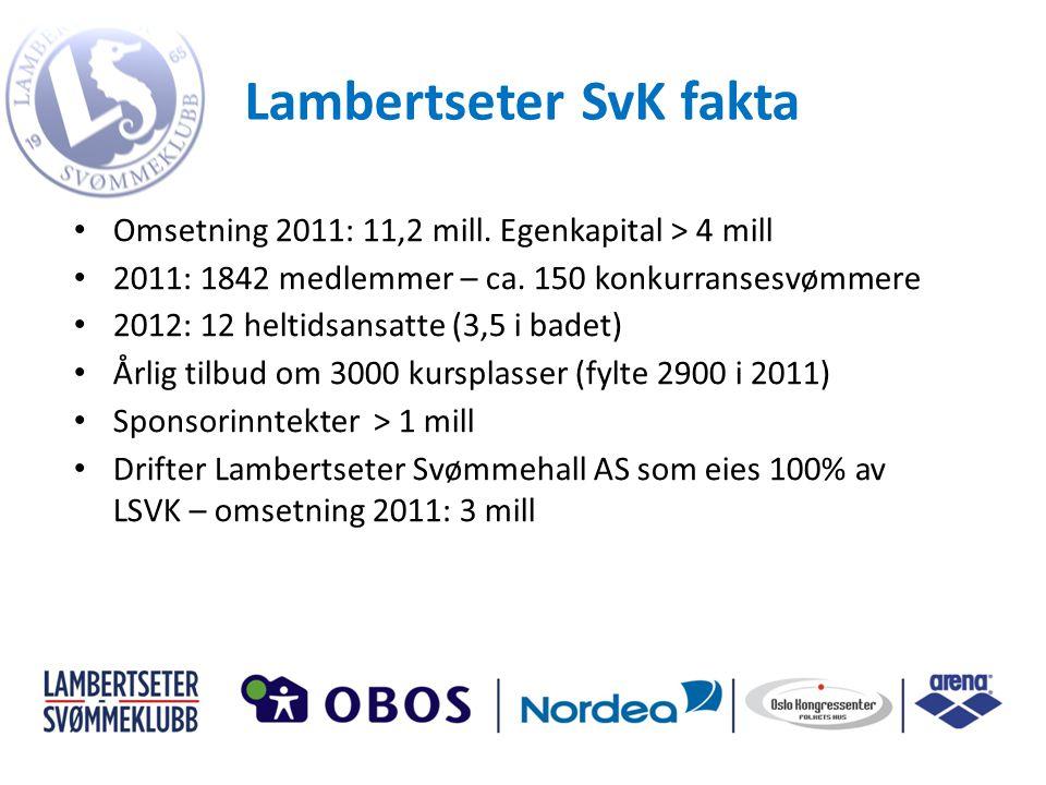 Lambertseter SvK fakta