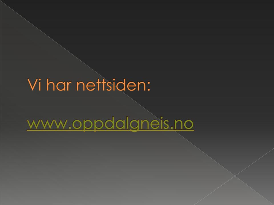 Vi har nettsiden: www.oppdalgneis.no