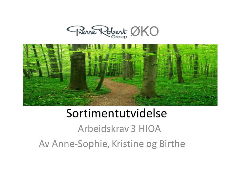 Arbeidskrav 3 HIOA Av Anne-Sophie, Kristine og Birthe