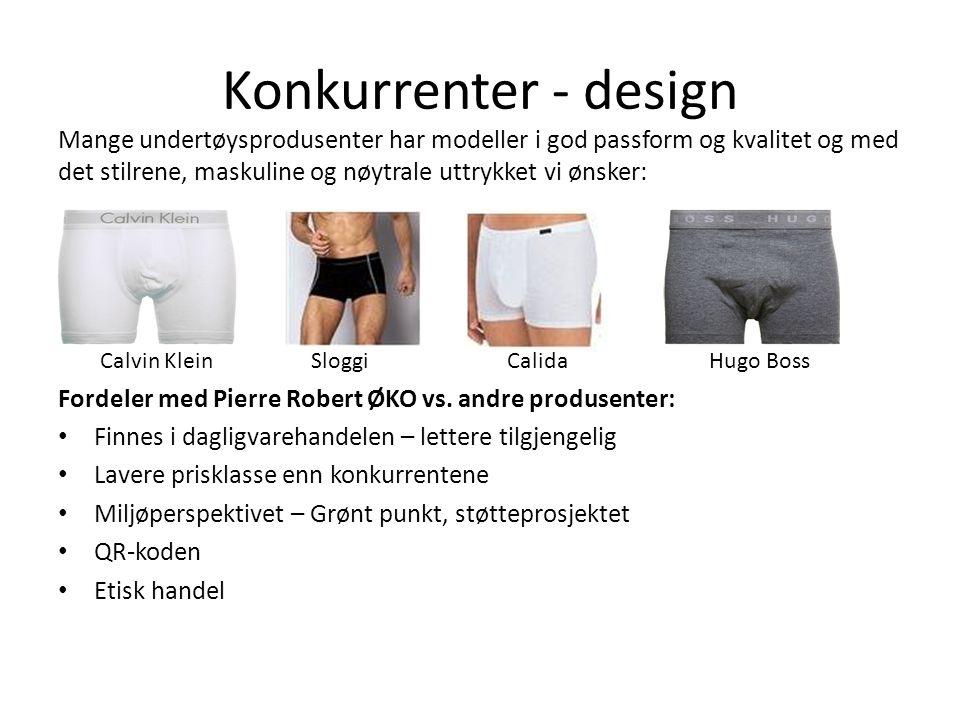 Konkurrenter - design