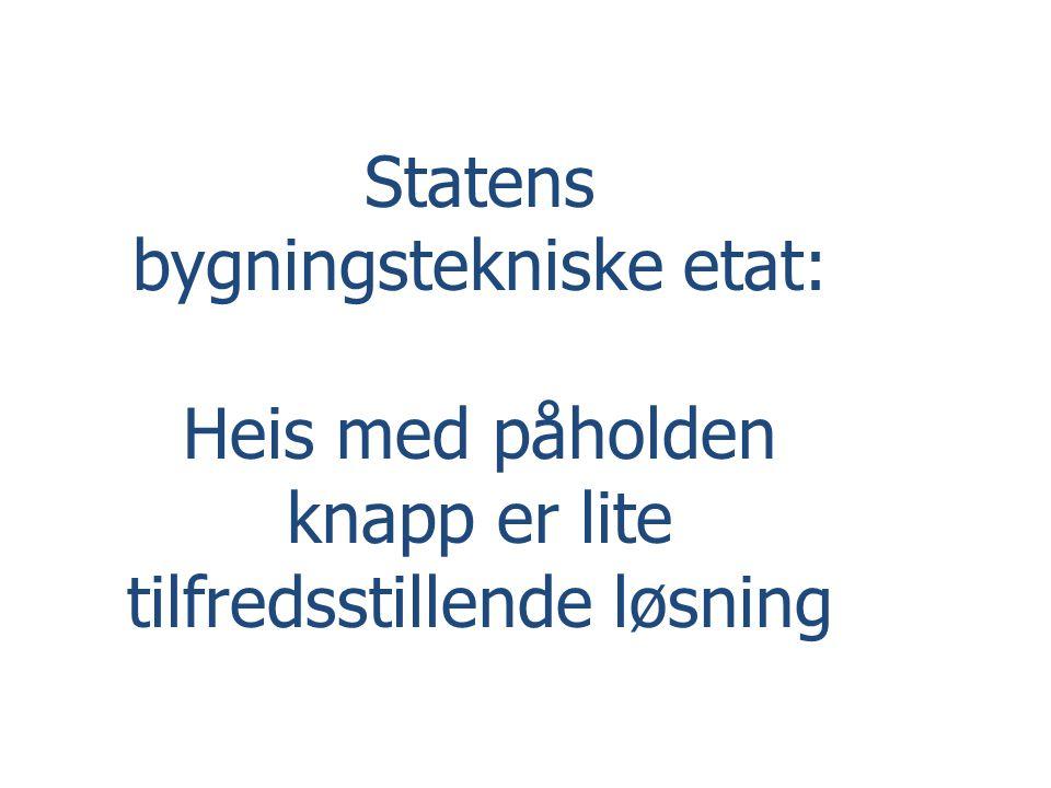 Statens bygningstekniske etat: