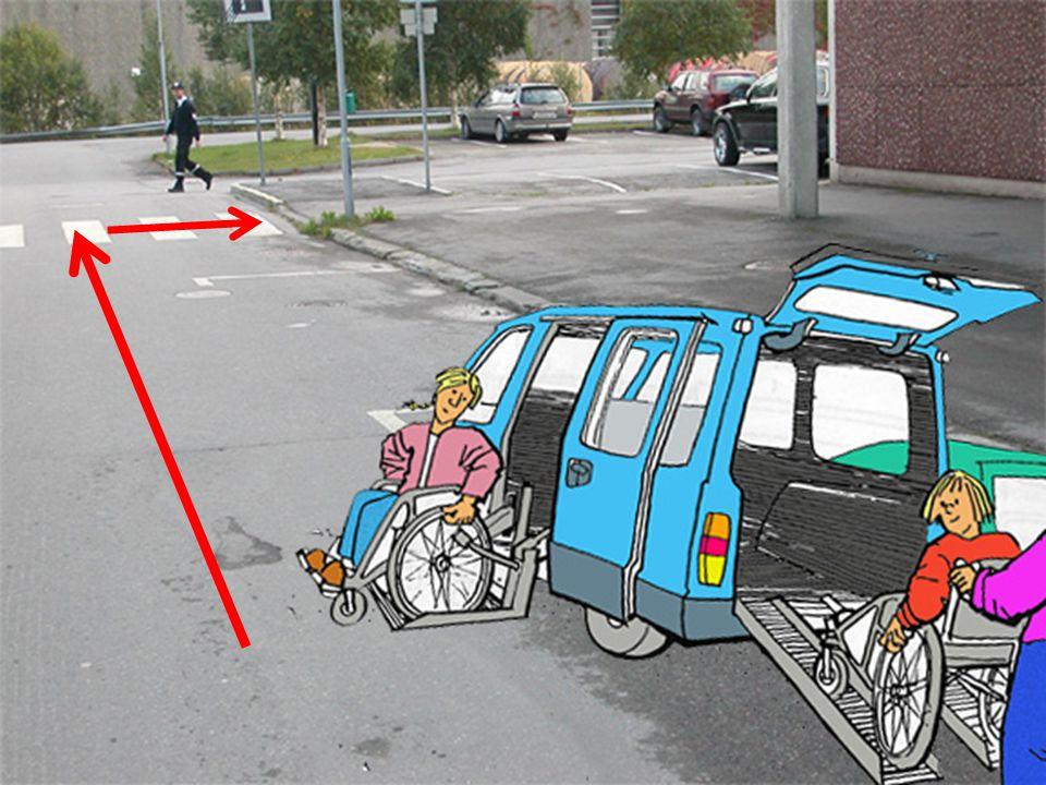 Av/påstigning skjer da ofte midt i gaten, som er utrygt og trafikkfarlig.