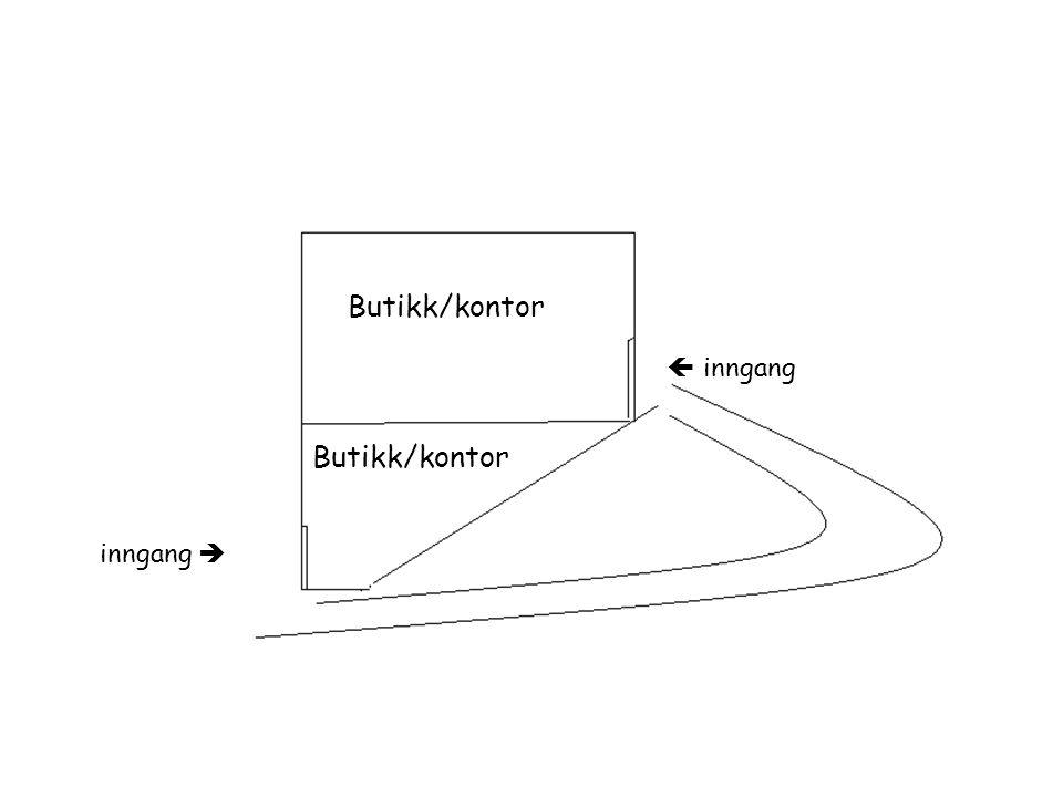 Butikk/kontor  inngang Butikk/kontor inngang 