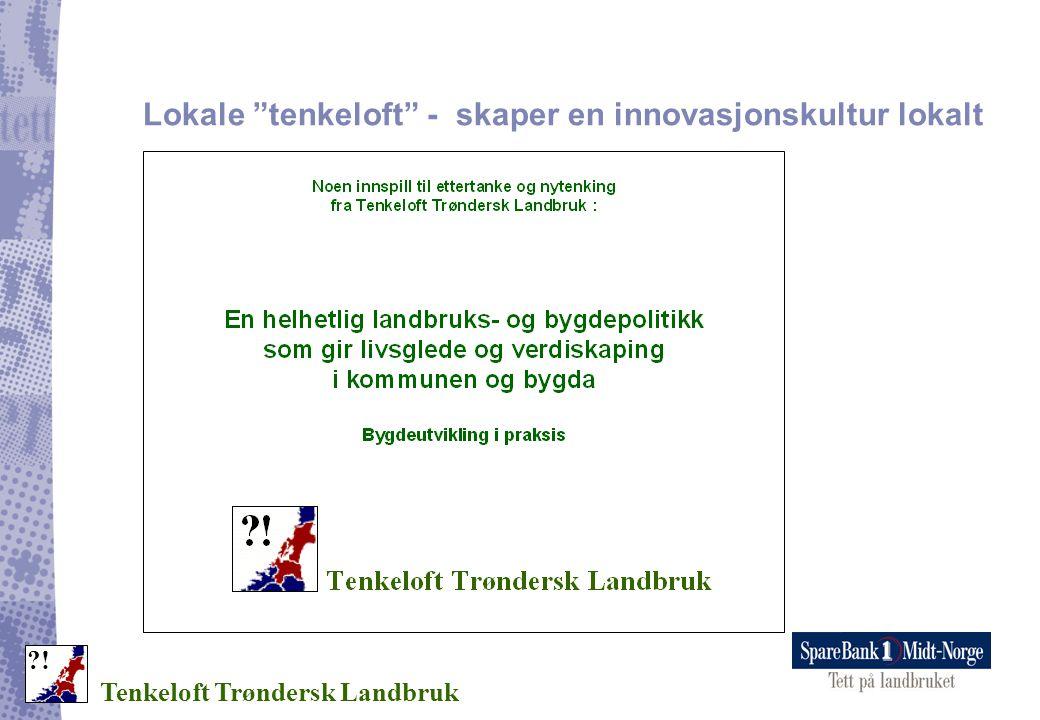 Lokale tenkeloft - skaper en innovasjonskultur lokalt