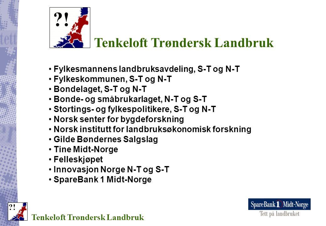 ! Tenkeloft Trøndersk Landbruk