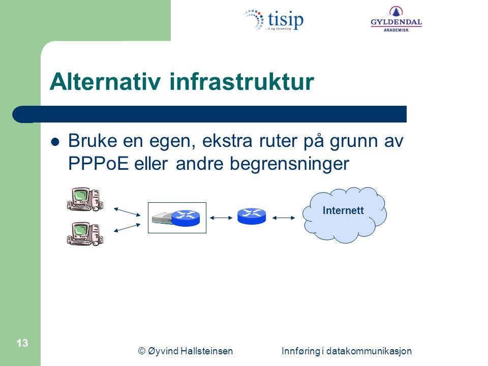 Alternativ infrastruktur