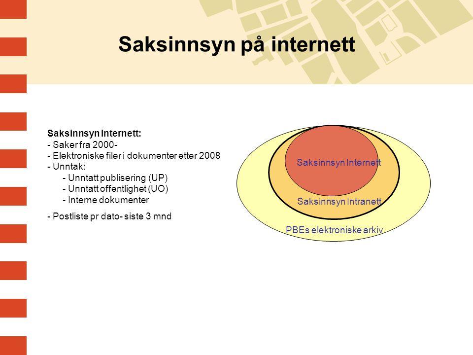 Saksinnsyn på internett