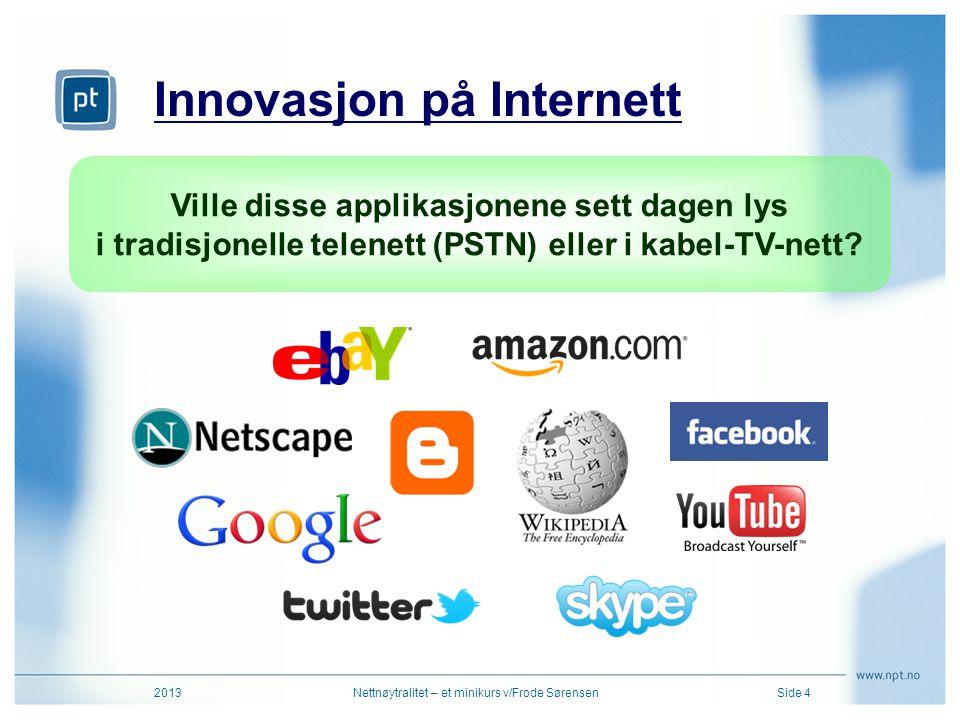 Innovasjon på Internett
