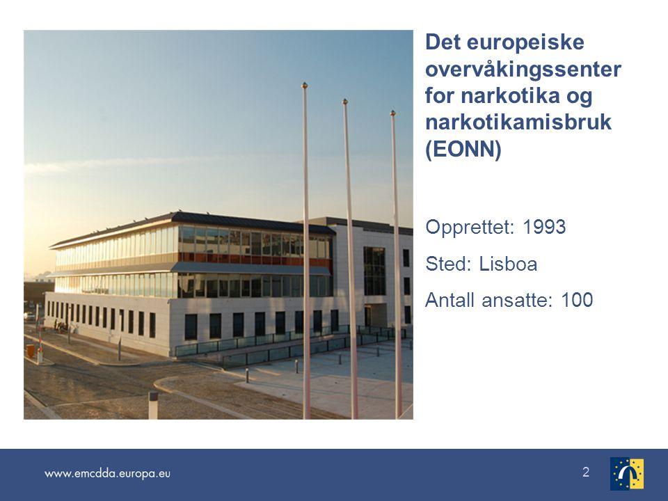 Det europeiske overvåkingssenter for narkotika og narkotikamisbruk (EONN)