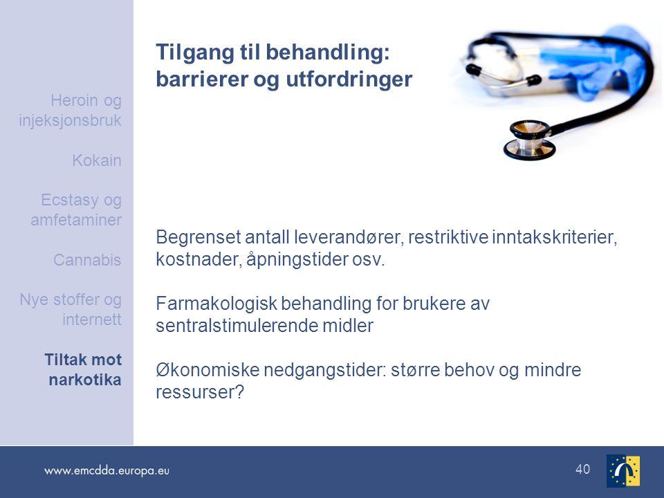 Tilgang til behandling: barrierer og utfordringer