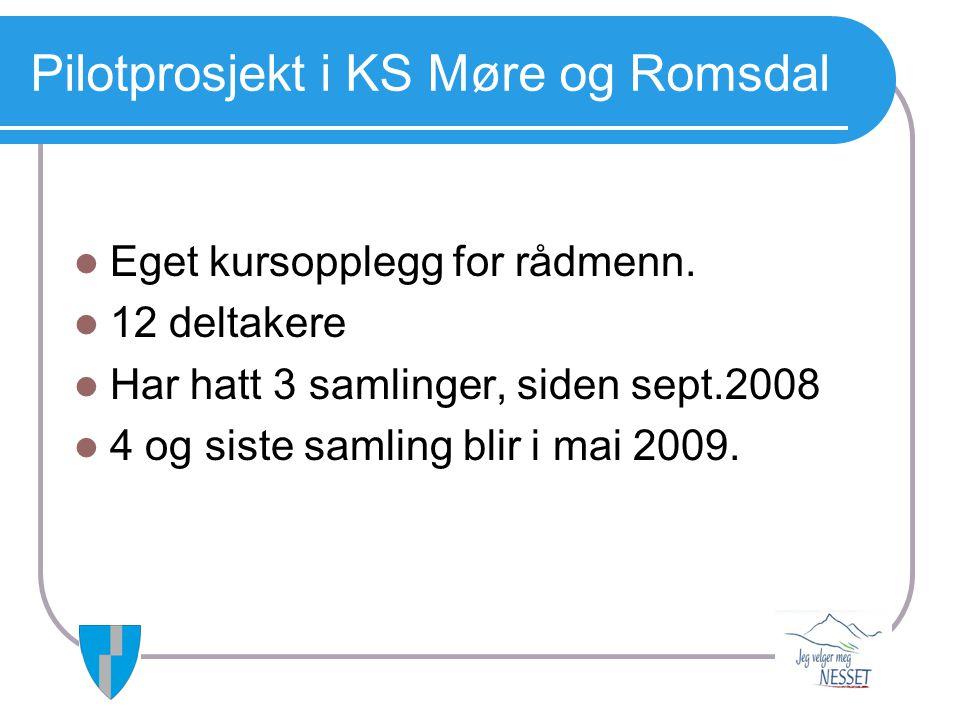 Pilotprosjekt i KS Møre og Romsdal