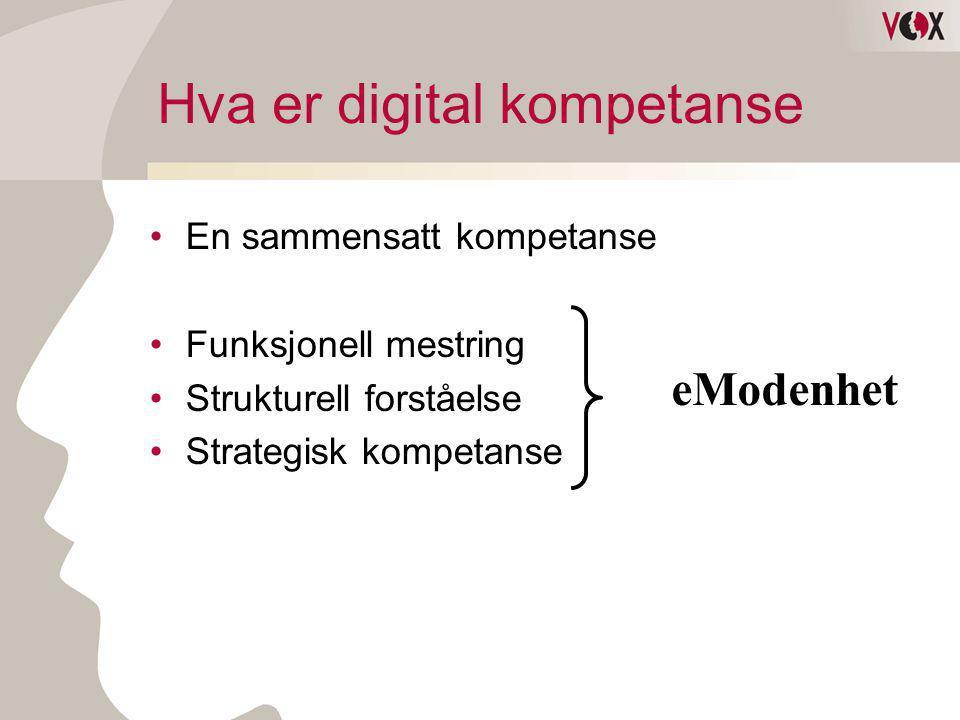 Hva er digital kompetanse